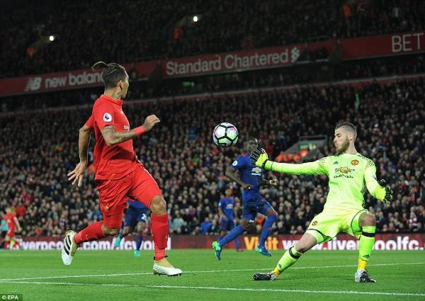 De Gea សង្រ្គោះបាល់បានច្រើនយប់មិញ ធ្វើឲ្យ Liverpool  បានត្រឹមស្មើ Man Utd (មានវីដេអូ)
