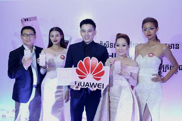 កំពូលអធិរាជស្មាតហ្វូន កាមេរ៉ាភ្លោះគ្មានពីរ Huawei P9 ពណ៌ផ្កាឈូកមាស បង្ហាញវត្តមាន ជាផ្លូវការហើយ