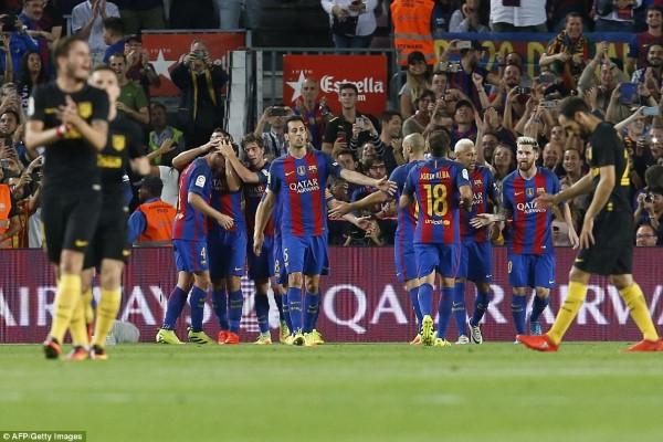 Barcelona និង Real Madrid ប្រកួតស្មើដូចគ្នា យប់មិញ ខណៈ Messi របួសសាច់ដុំក្រលៀន ខកខានប្រកួត៣សប្តាហ៍ (មានវីដេអូ)