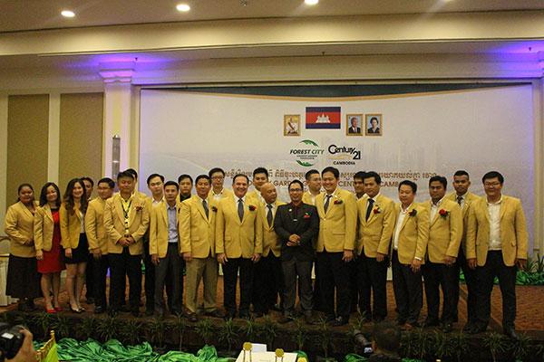 ក្រុមហ៊ុន Century21 Cambodia សម្របទៅតាម «យុទ្ធសាស្ដ្រ និងចក្ខុវិស័យសាកលពេញលេញ» នៅក្នុងទីផ្សារអចលនវត្ថុ